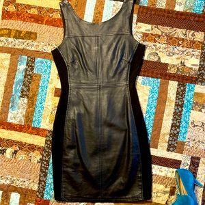 Sanctuary Vegan Leather Dress